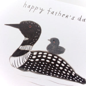 Loon Father's Day Card