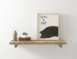 Take a Nap, Giclee Art Print