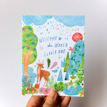 Welcome to the World, Little One Baby Card