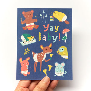 Yay Baby! Baby Animal Card