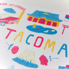 TACOMA Greeting Card