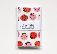 Lady Bug Tiny Notes (Set of 10)