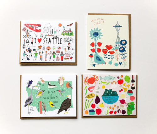 Seattle & PNW Card Bundle