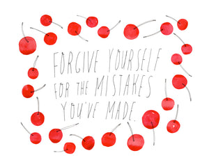 Forgive Yourself, Giclee Art Print