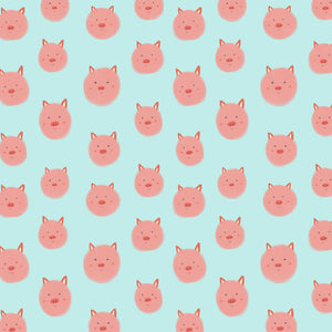 Little Piggies Wrapping Paper Roll