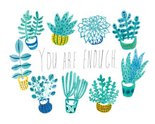 You Are Enough Giclee Art Print