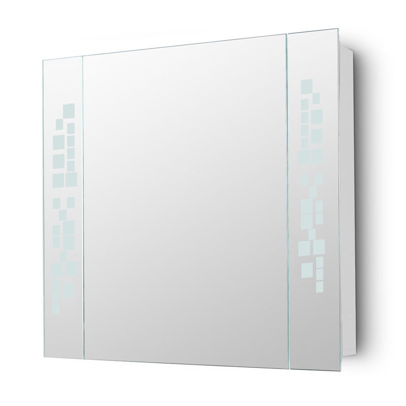 Rectangle LED Illuminated Bathroom Mirror Cabinet