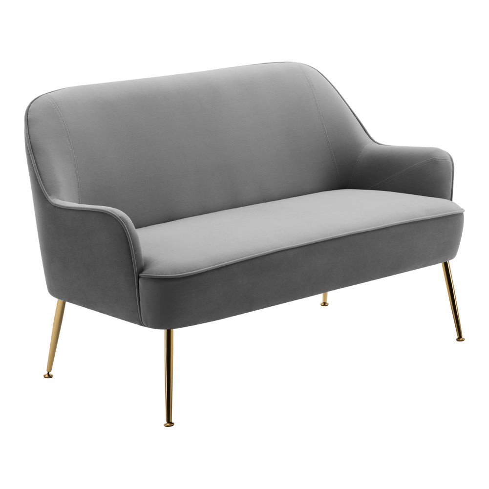 Spun Velvet 2 Seater Lounge Sofa
