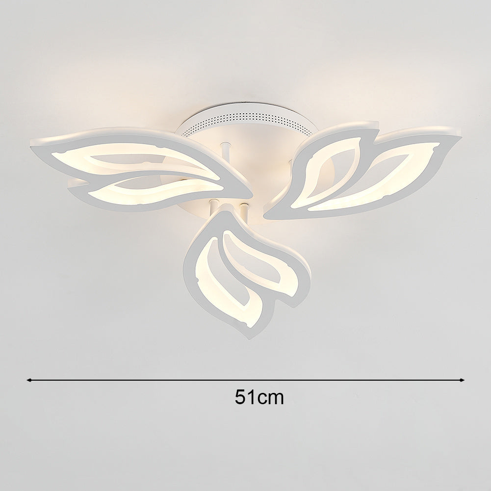 Modern LED Ceiling Light with Petal Acrylic Lampshades (Version C)