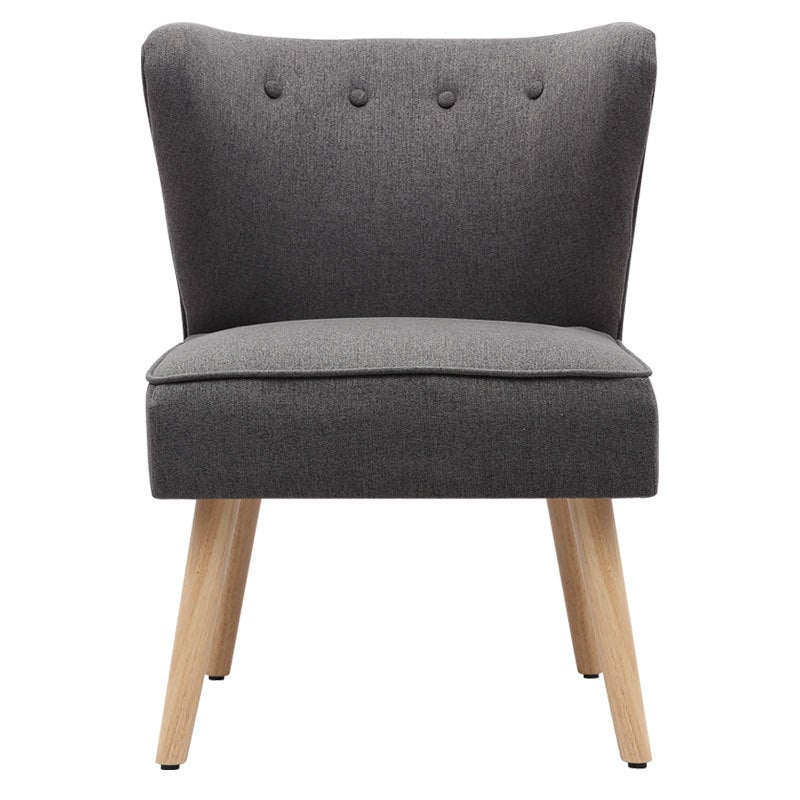 Single Imitation Cashmere Leisure Chair