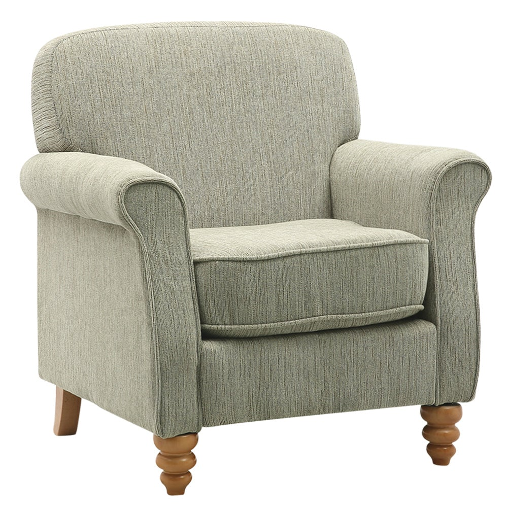 Lounge Chenille Wingback Armchair