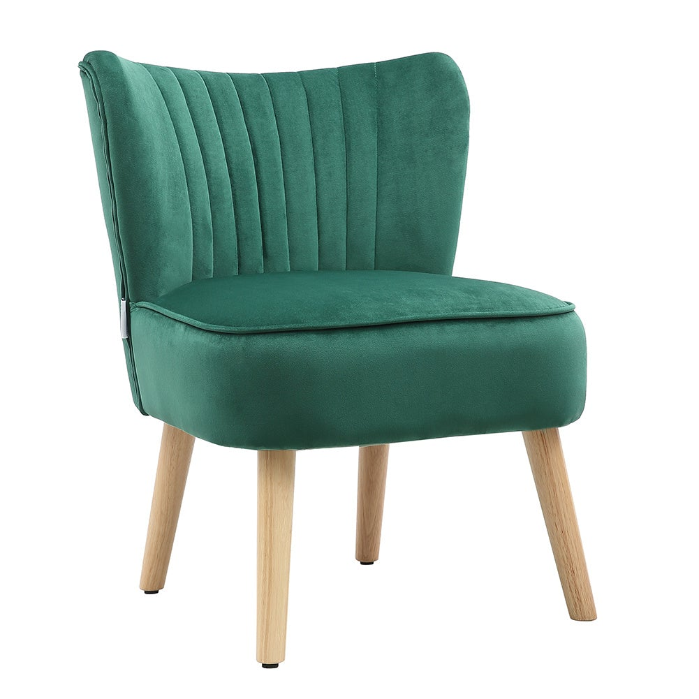 Velvet Leisure Chair Single Sofa