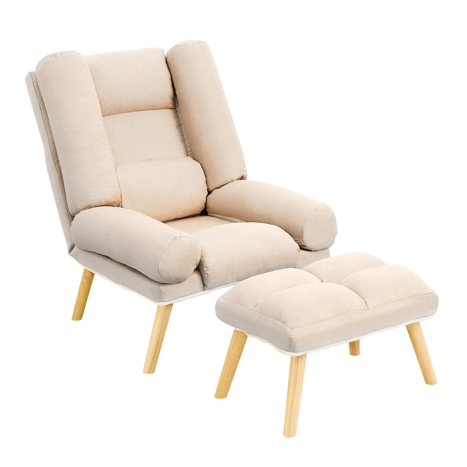 Lounge Sling Chair And Footstool