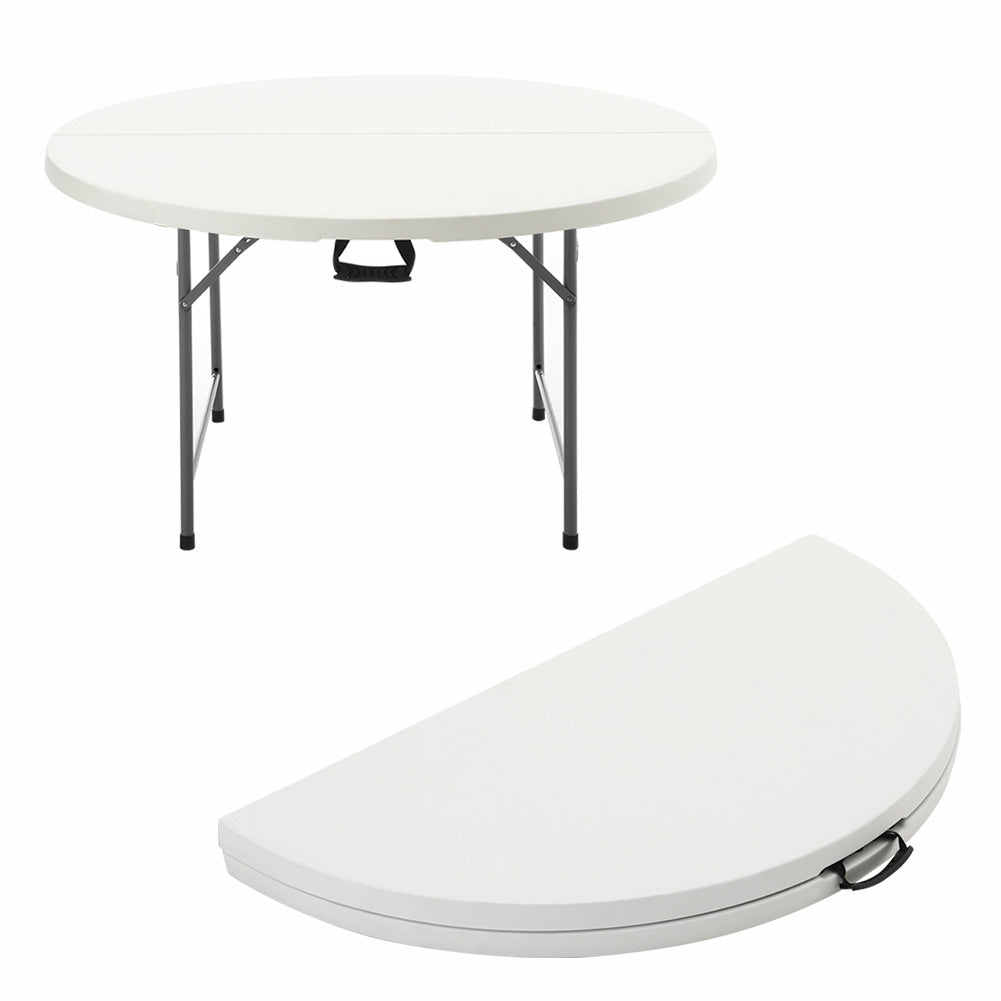 Commercial Fold-in-Half Table - White
