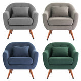 Leisure Accent Armchair With With Cushion