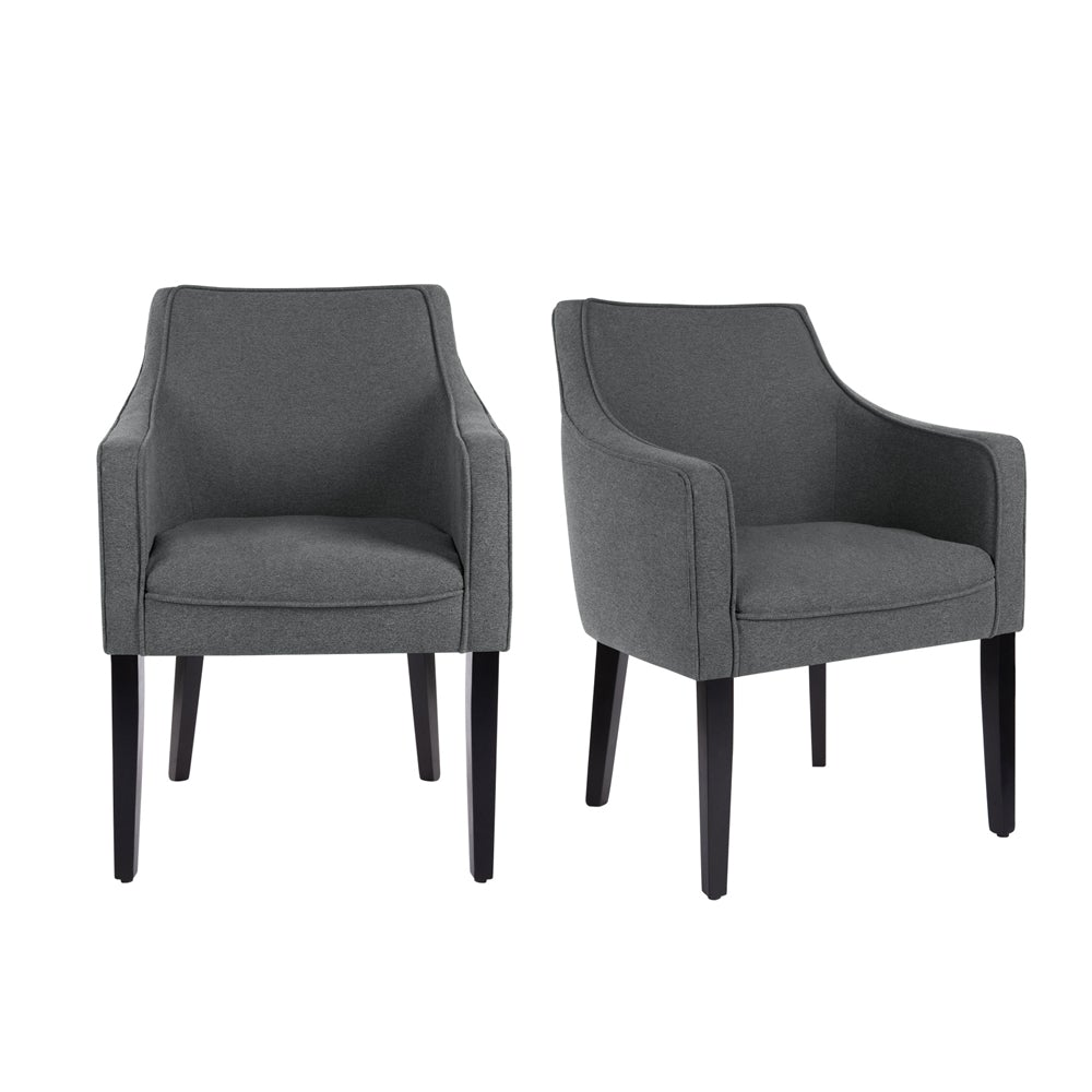 Set of 2 Tub Dining Chairs