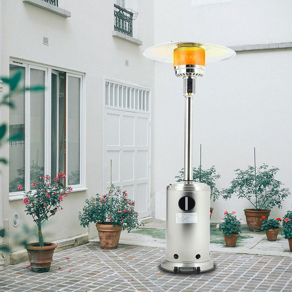 Gas Powered Patio Heater with Wheel