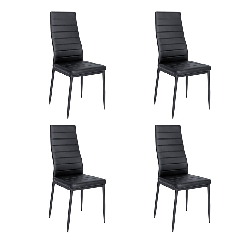 Set of 4 Ladder Dining Chairs