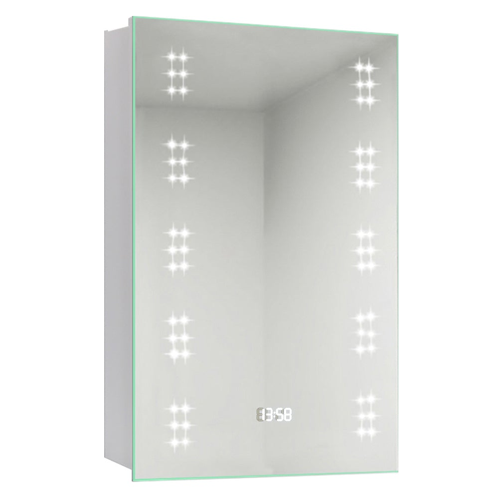Rectangle LED Touch On/Off Bathroom Mirror Cabinet