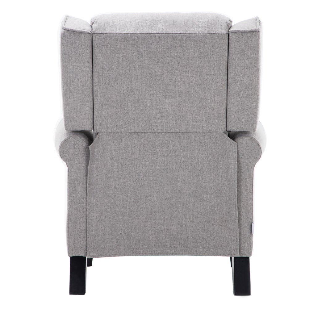 Grey Reclining Armchair