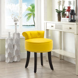 Buttoned Dressing Table Stool