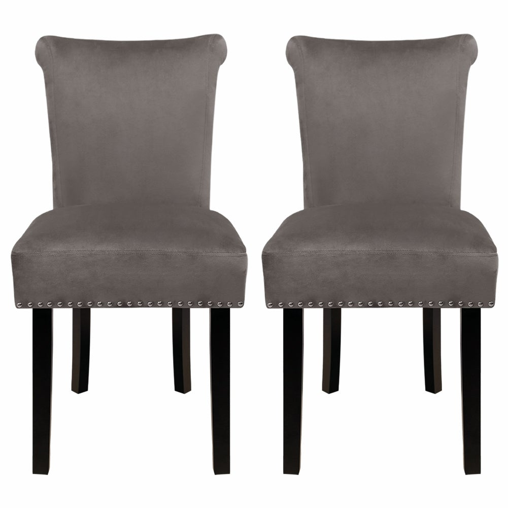 Set of 2 Leisure Dining Chairs