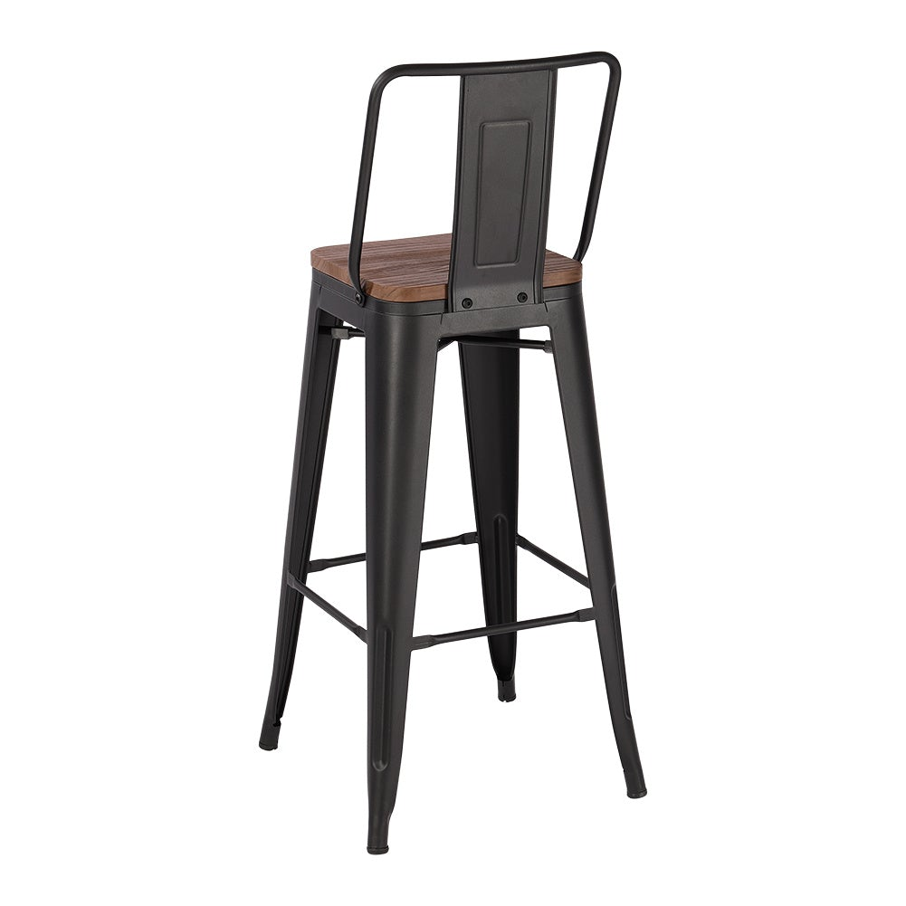 Set of 2/4 Bar High Iron Chair