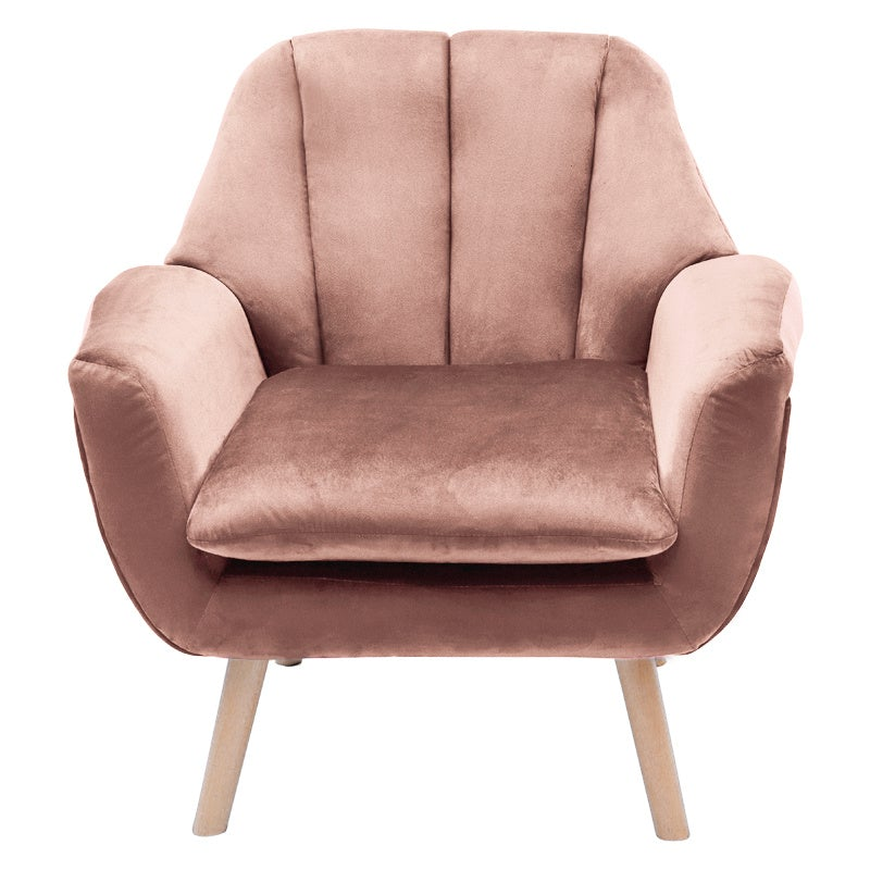 Velvet Accent Chair Armchair