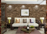 3D Effect Yellow Brick Wallpaper