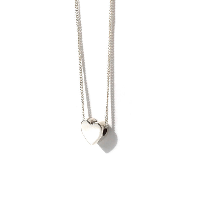 Your Little Heart of Silver Necklace