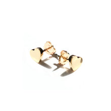 Load image into Gallery viewer, Little Heart of Gold Earrings