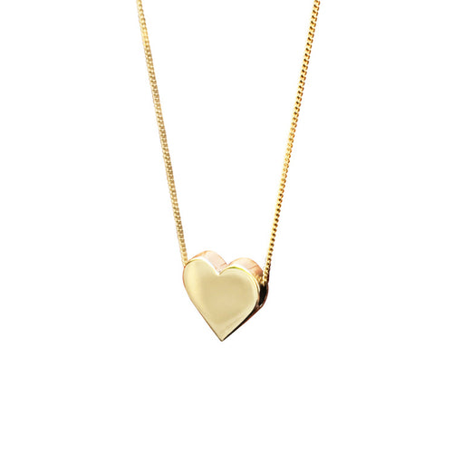 Golden Valentine Necklace