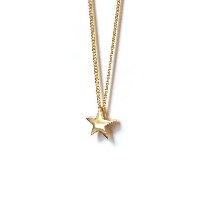 Little Star of Gold Necklace