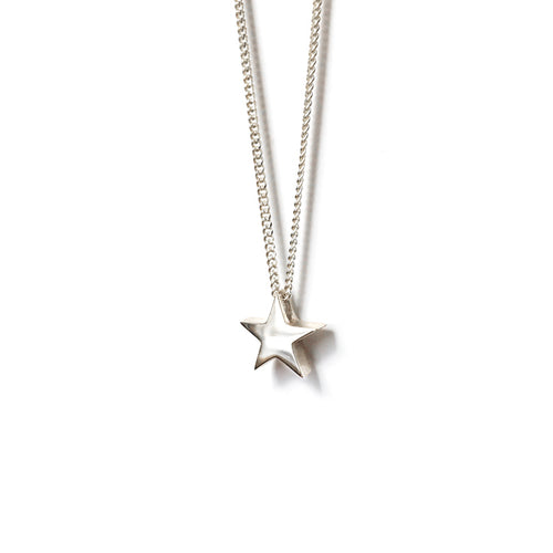 Little Star of Sterling Silver Necklace