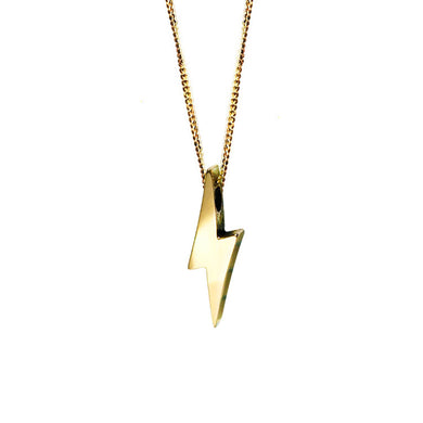 Strength Necklace | Solid Gold