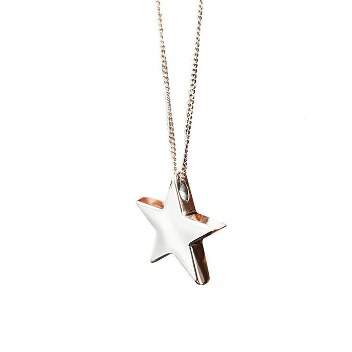 Stella Star Sterling Silver Necklace
