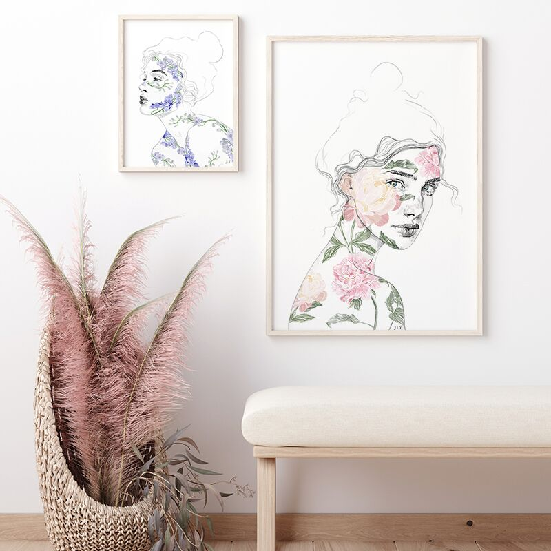 Botanical Babe Print Collection