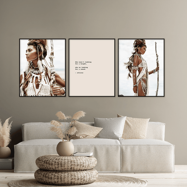 Warrior Woman Prints