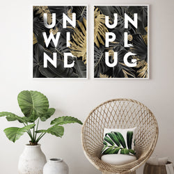 Unwind and Unplug Print Collection