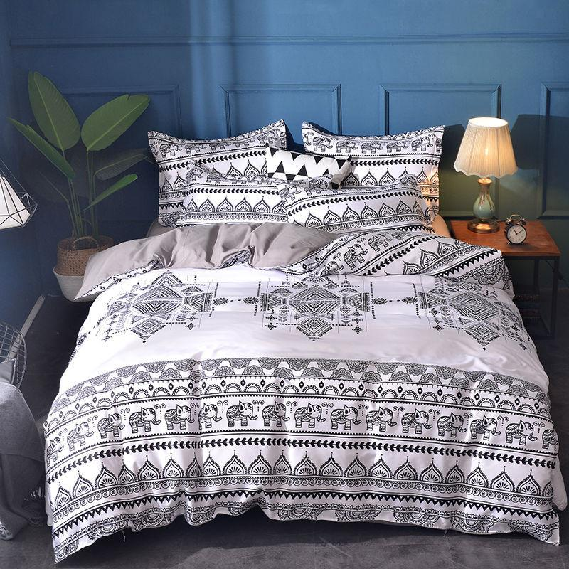 Bohemian Elephant Bedding Set