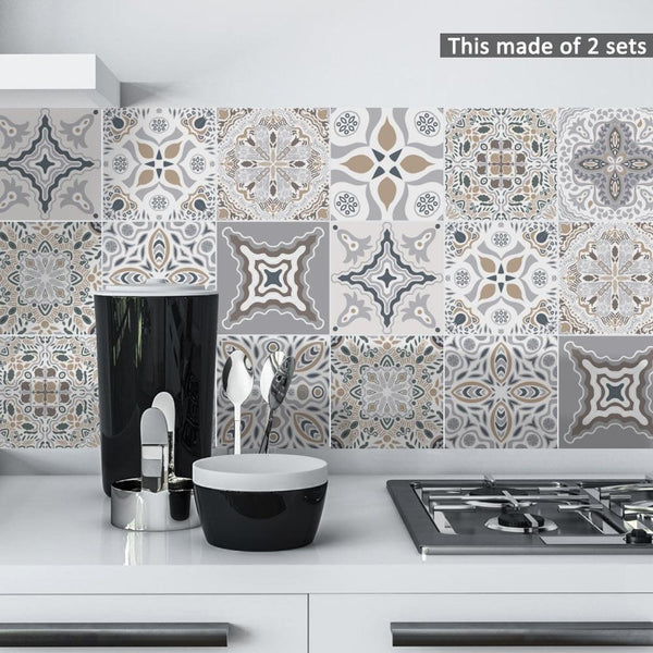 Fifty Shades Moroccan Tiles