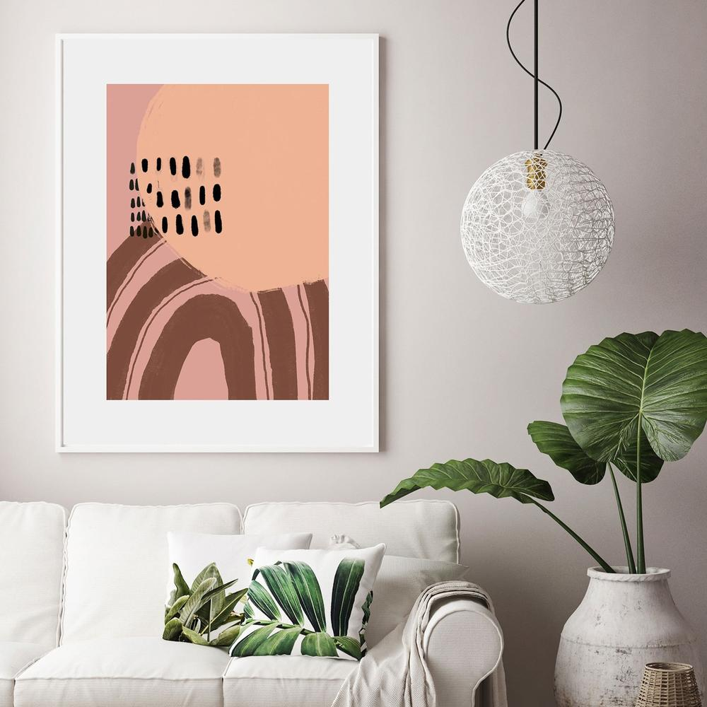 Mid-Century Abstract Print Collection
