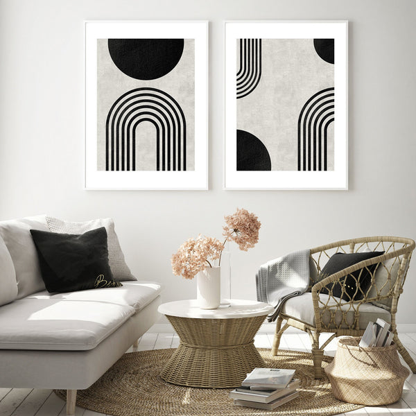 Monochromatic Art Print Collection