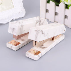 Marble Rose Gold Stapler
