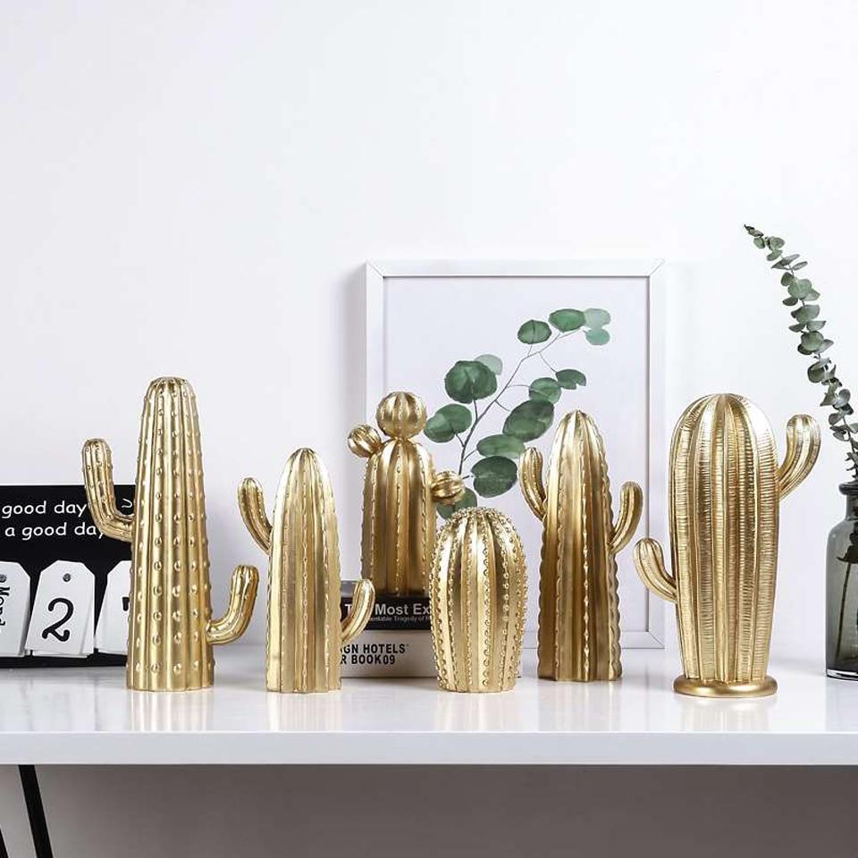 Modern Nordic Cactus Collection