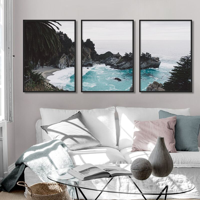 Panoramic Coast Print Collection