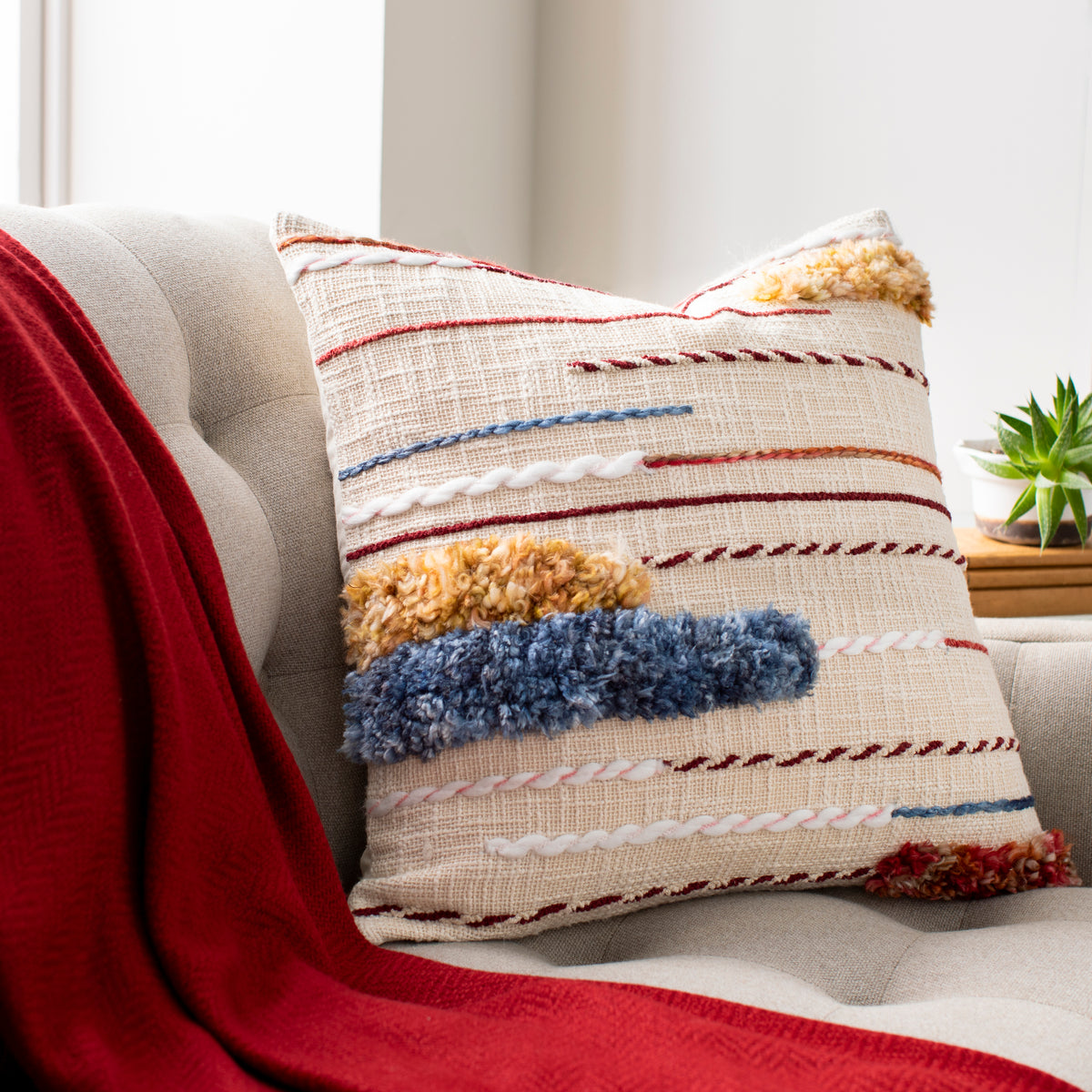 Square Fiesta Pillow