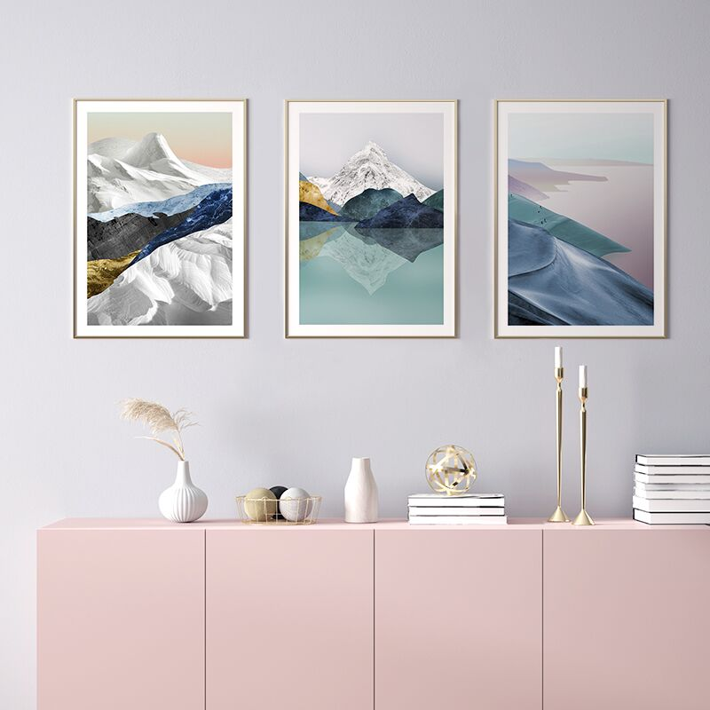 Frozen Pastel Print Collection