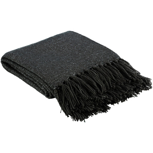 Essential Throw with Fringe