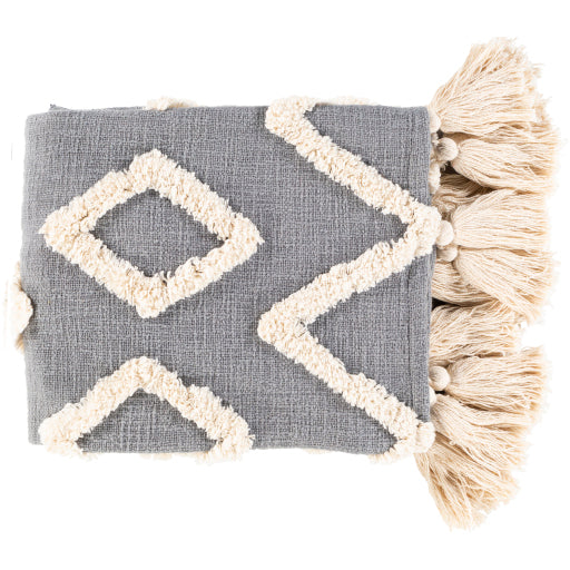 Slate Aztec Throw
